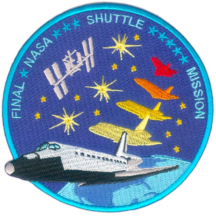 Lucreation Final Shuttle patch